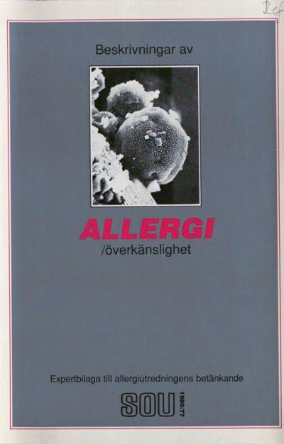 Omslaget till SOU 1989:77