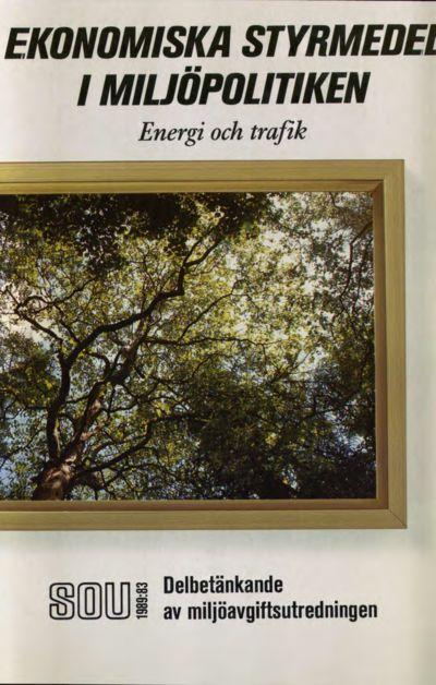 Omslaget till SOU 1989:83