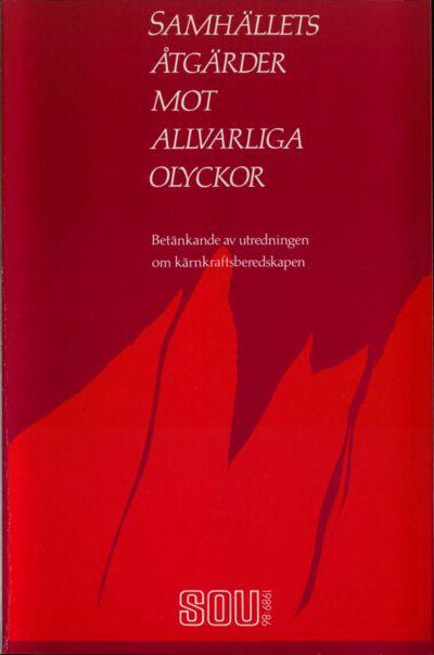 Omslaget till SOU 1989:86