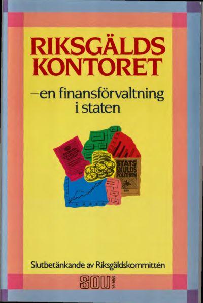 Omslaget till SOU 1989:95