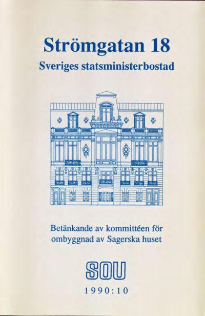 Omslaget till SOU 1990:10