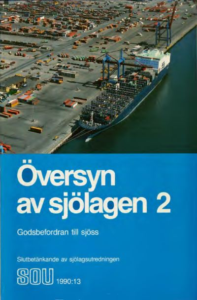 Omslaget till SOU 1990:13