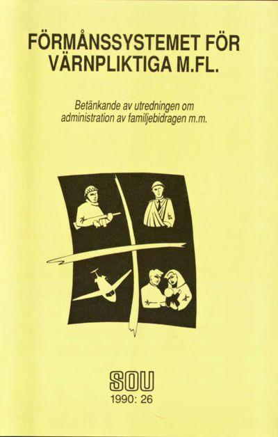 Omslaget till SOU 1990:26