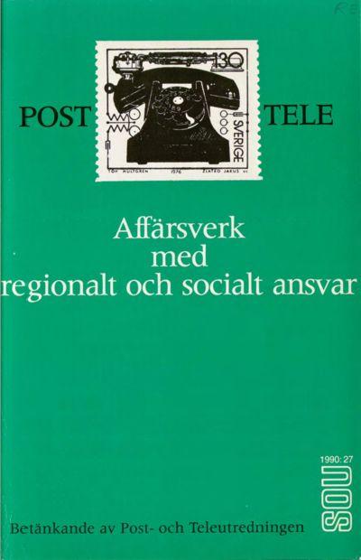 Omslaget till SOU 1990:27