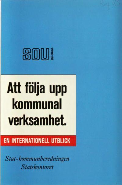 Omslaget till SOU 1990:28