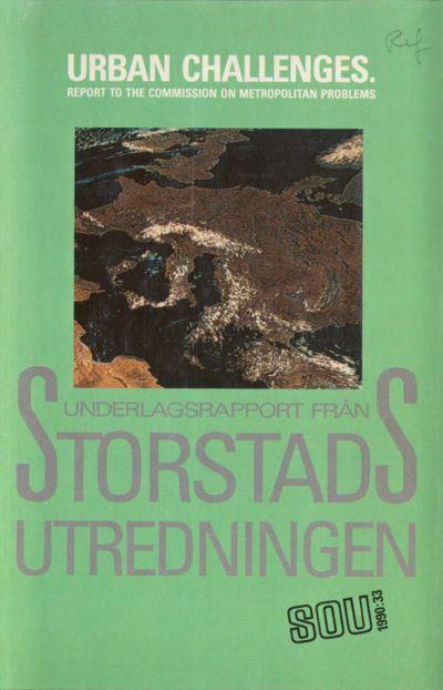Omslaget till SOU 1990:33