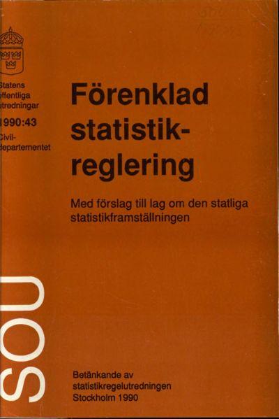 Omslaget till SOU 1990:43