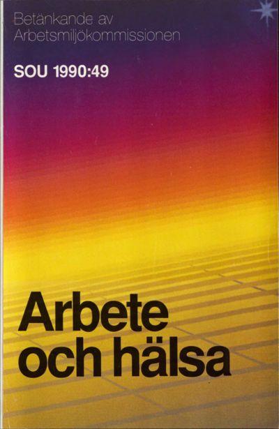 Omslaget till SOU 1990:49