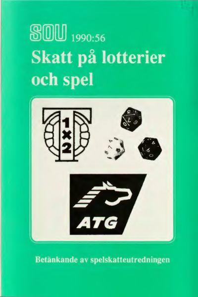 Omslaget till SOU 1990:56