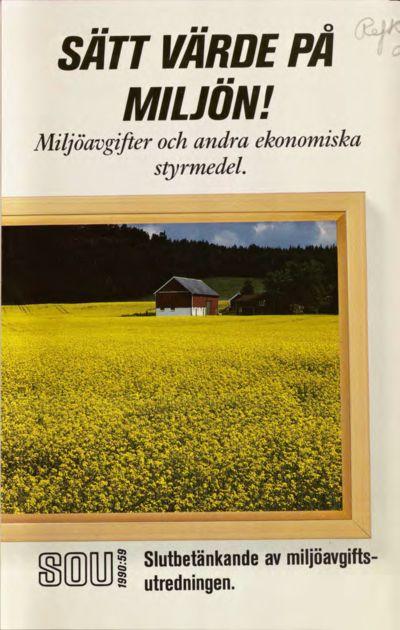 Omslaget till SOU 1990:59