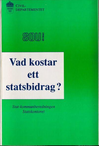 Omslaget till SOU 1990:68