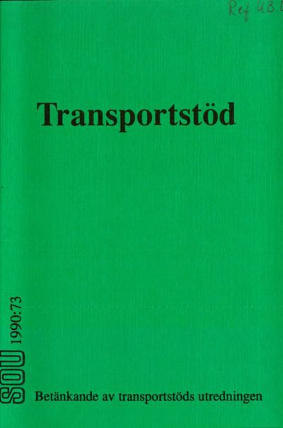 Omslaget till SOU 1990:73