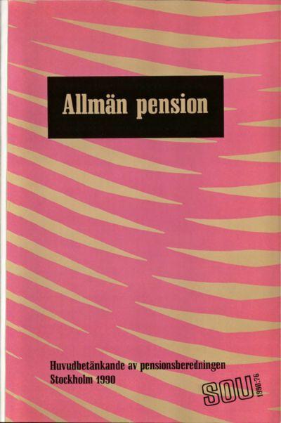 Omslaget till SOU 1990:76
