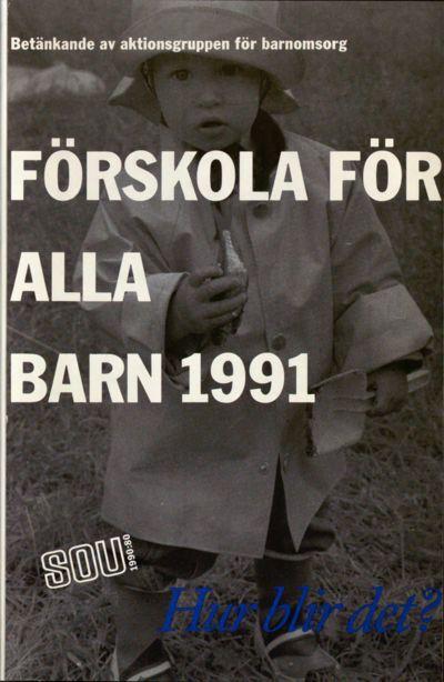 Omslaget till SOU 1990:80