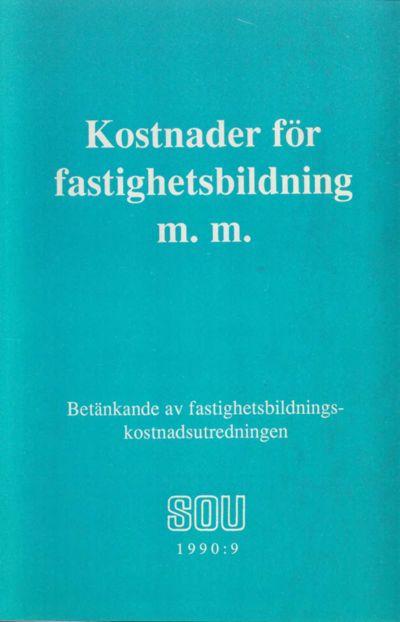 Omslaget till SOU 1990:9