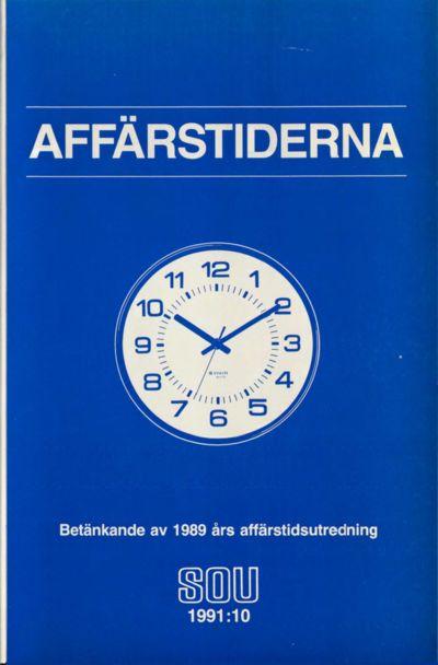 Omslaget till SOU 1991:10