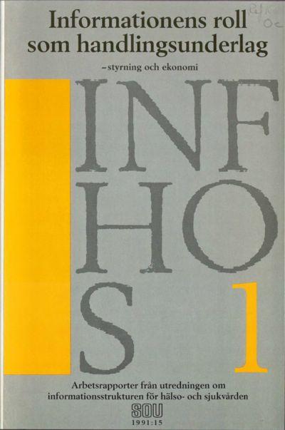 Omslaget till SOU 1991:15