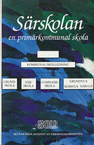 Omslaget till SOU 1991:30