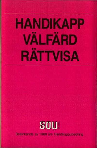 Omslaget till SOU 1991:46