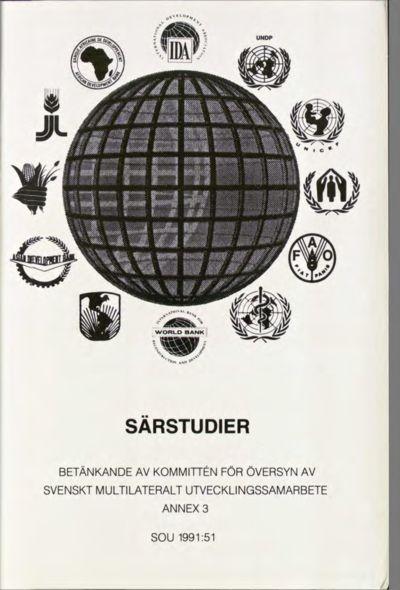 Omslaget till SOU 1991:51