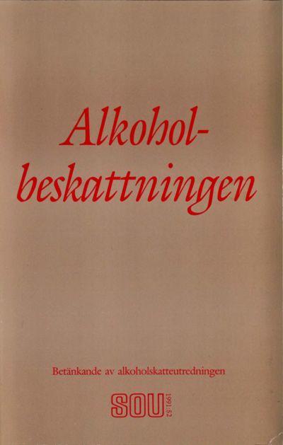 Omslaget till SOU 1991:52