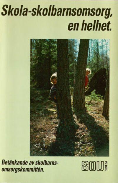 Omslaget till SOU 1991:54