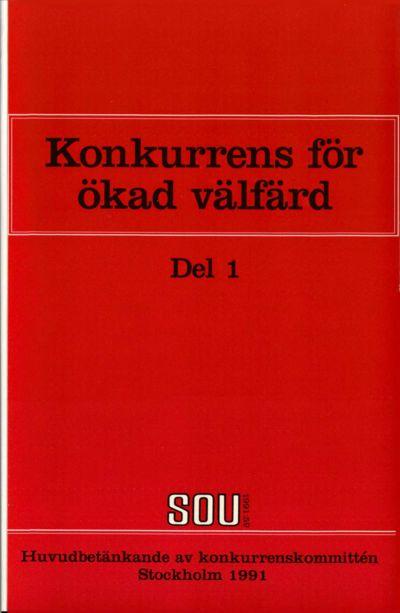 Omslaget till SOU 1991:59