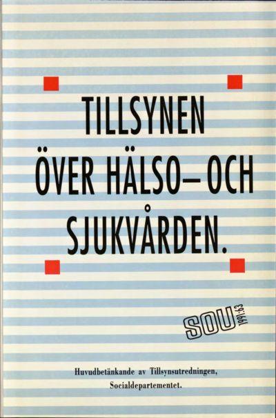 Omslaget till SOU 1991:63