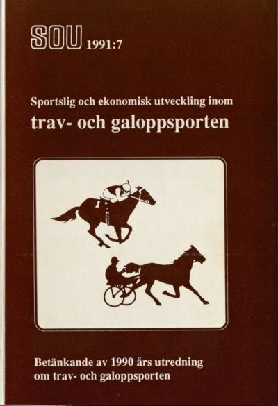 Omslaget till SOU 1991:7