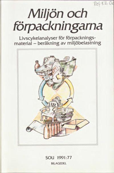 Omslaget till SOU 1991:77
