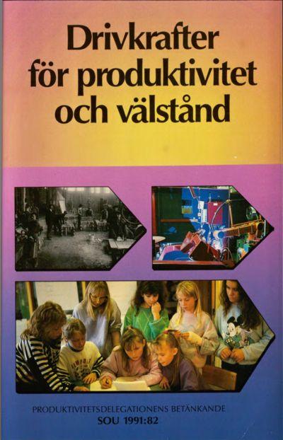 Omslaget till SOU 1991:82