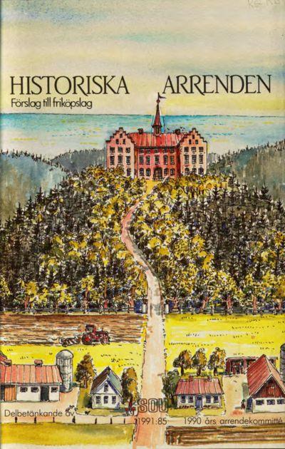 Omslaget till SOU 1991:85