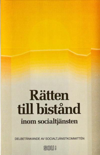 Omslaget till SOU 1993:30