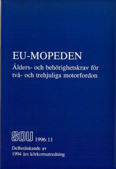 Omslaget till SOU 1996:11