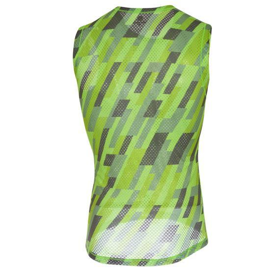 CASTELLI Maglia intima senza maniche Pro Mesh - Verde/Grigio