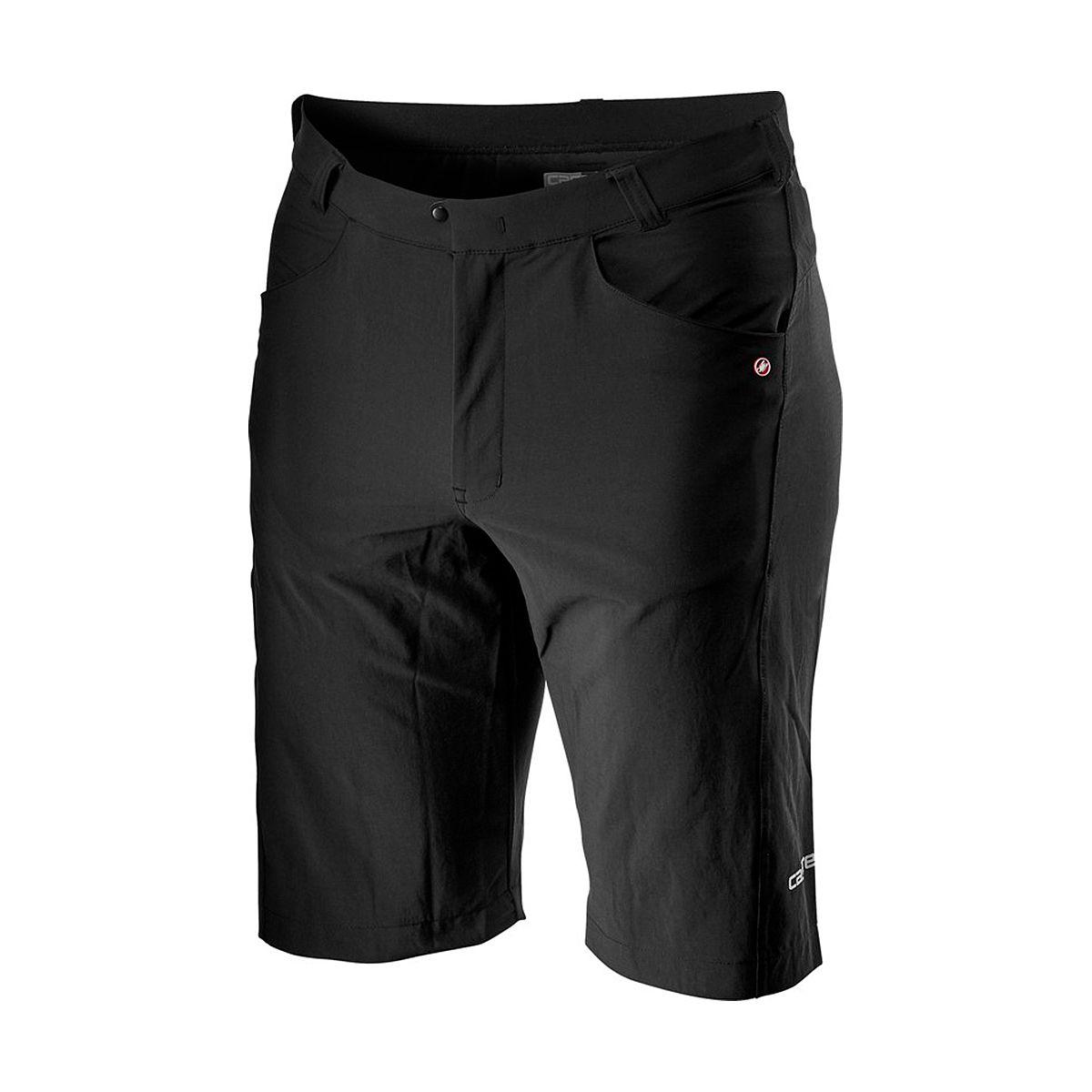 CASTELLI Pantaloncini Uomo Unlimited Baggy - Nero