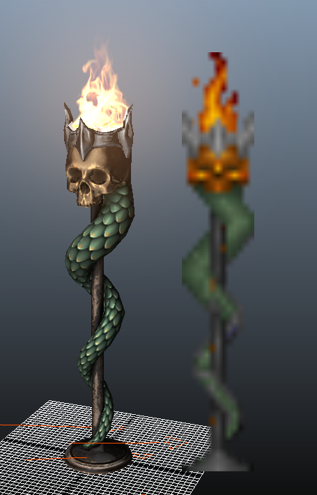 Heretic_SerpentTorch_FireTest_wSprite.png
