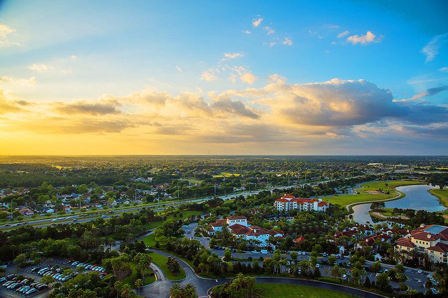 Orlando aerial view