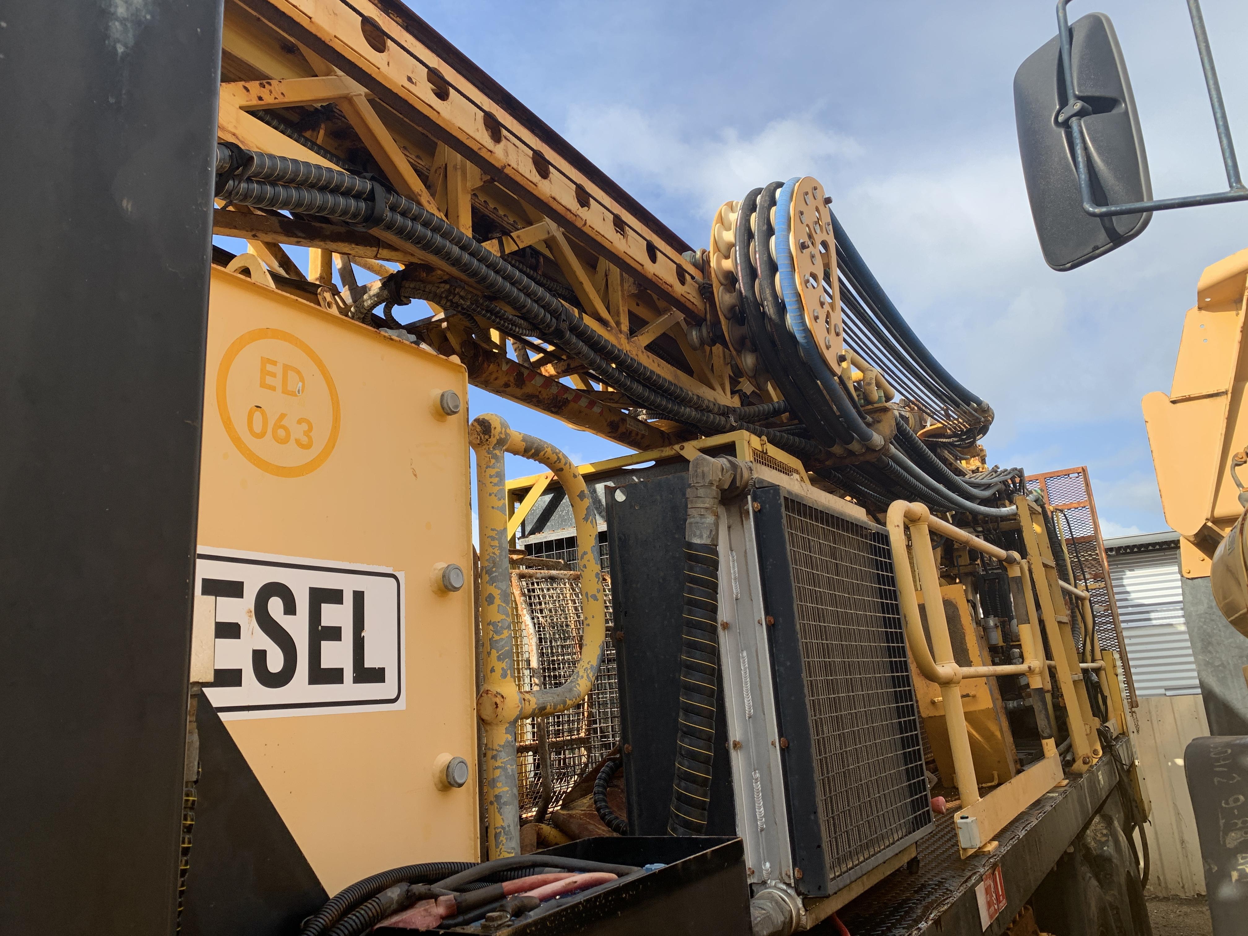 Multi purpose drill rig KL 1500m for sale