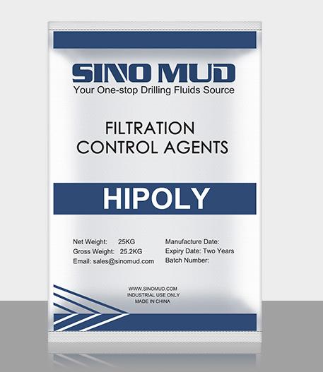 Anti Temperature and Salt Fluids Loss Control Agent HIPOLY