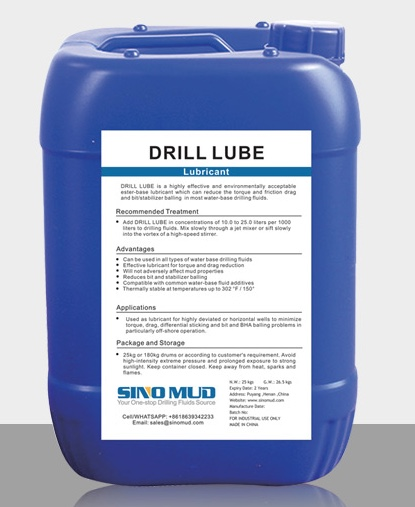 Lubricant Drill Lube
