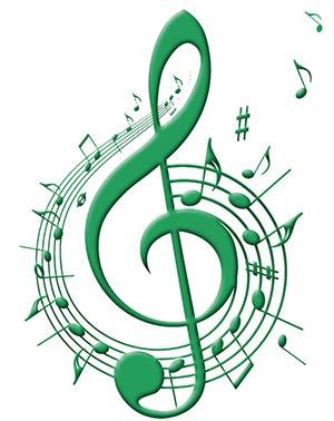 G clef music