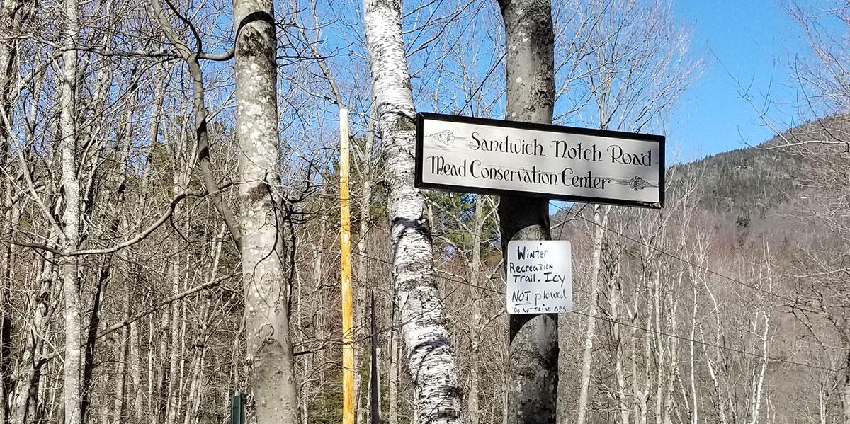 Sandwich Notch sign