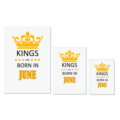 Birthday | Kings are born in june