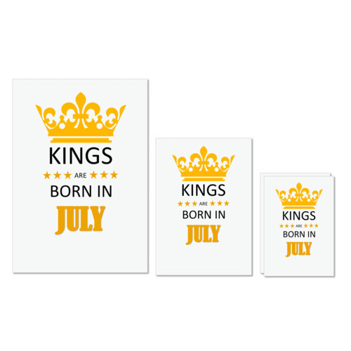 Birthday | Kings are born in July