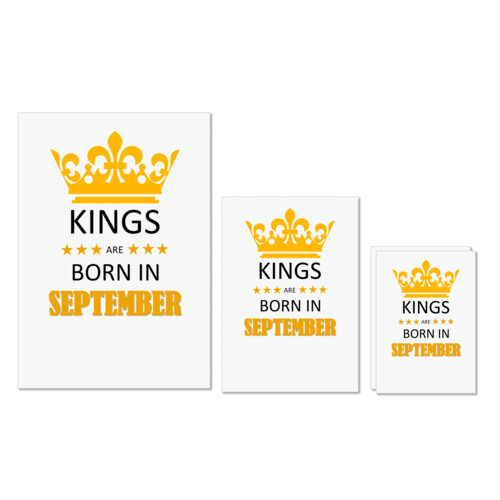 Birthday | Kings are born in September