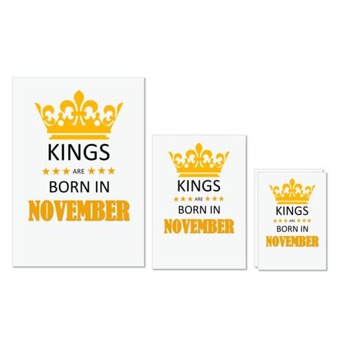 Birthday | Kings are born in November