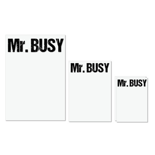 Busy | Mr. Busy