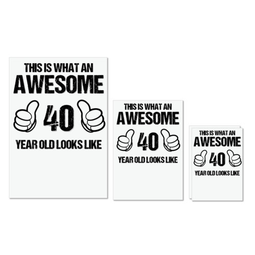 Awesome | This is what an awesome 40 years old looks like