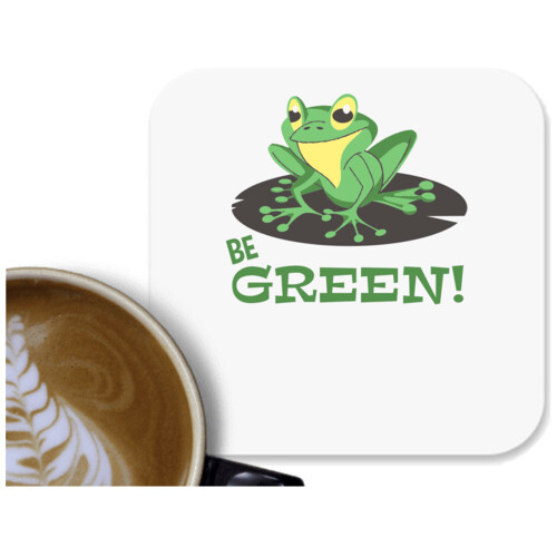 Be green | Be green frog